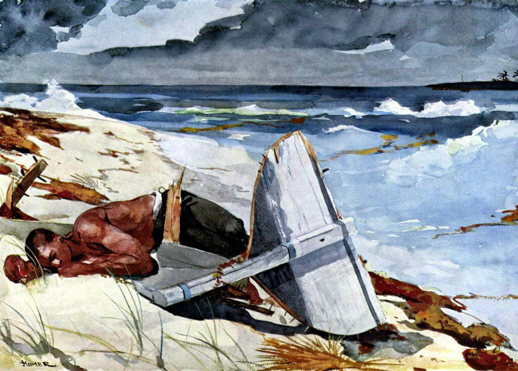 After the Hurricane, Bahamas, 1899 by Winslow Homer