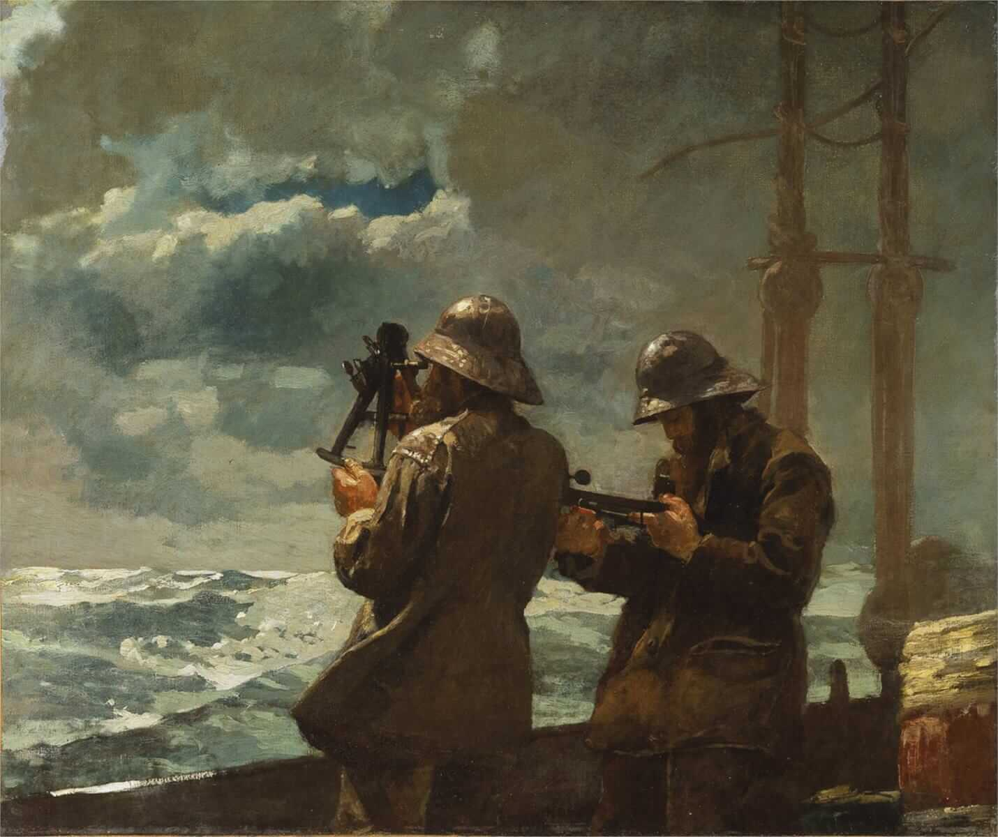 Eight Bells, 1887 by Winslow Homer