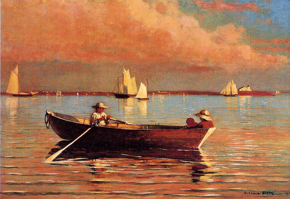 Gloucester Harbor - by Winslow Homer
