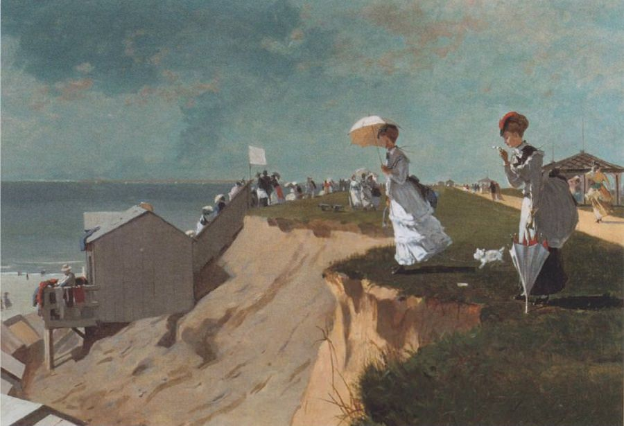 Long Branch New Jersey - by Winslow Homer