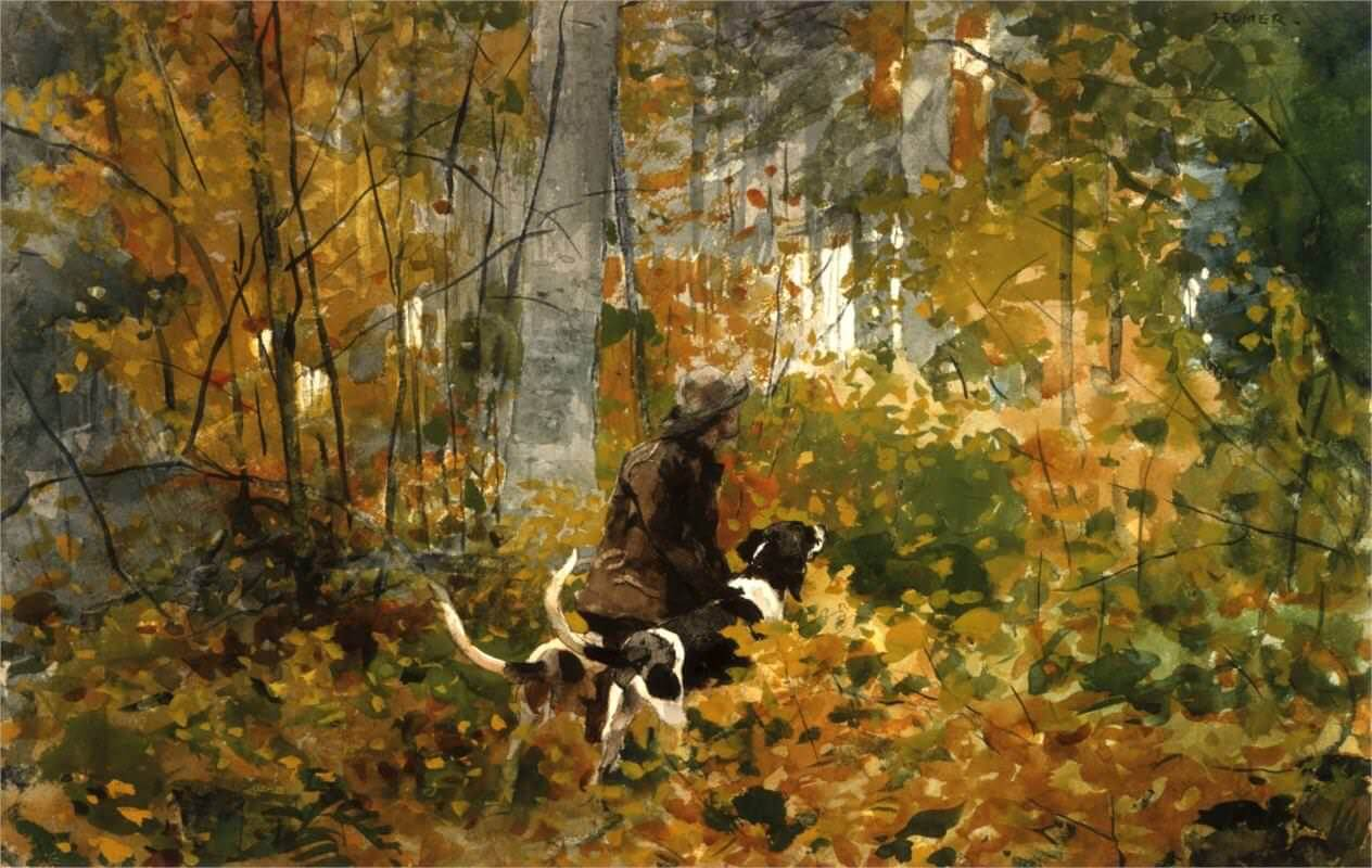 On the Trail, 1892 by Winslow Homer