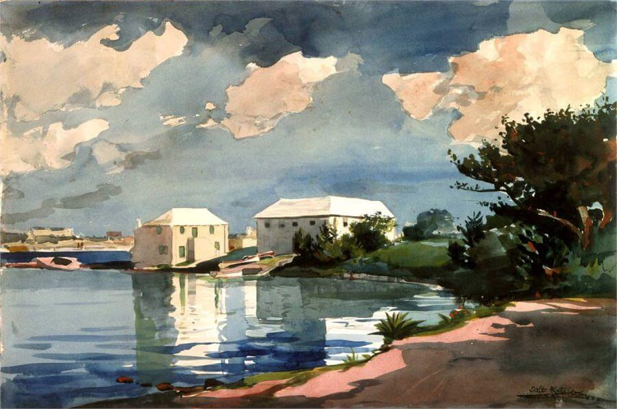 Salt Kettle Bermuda - by Winslow Homer
