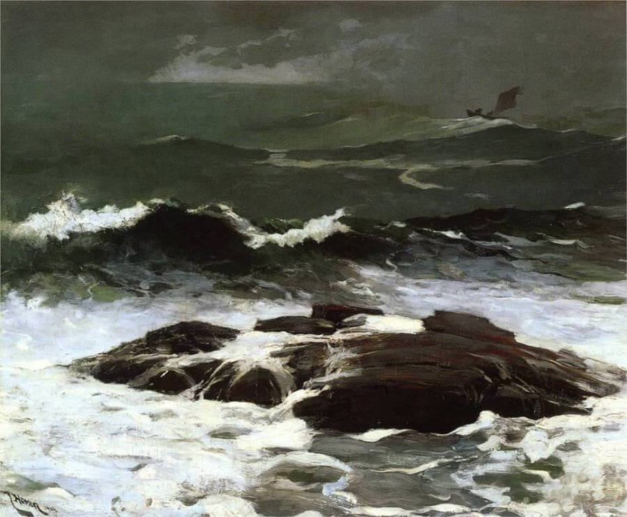 Summer Squall - by Winslow Homer