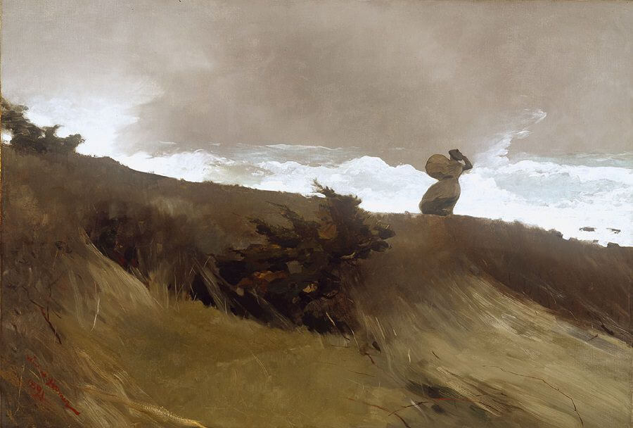 The West Wind - by Winslow Homer